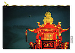 Carry-all Pouch featuring the photograph China Night by Michael Nowotny