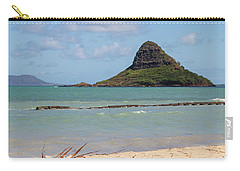 Chinamans Hat Oahu Carry-all Pouch