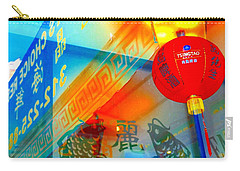 Chinatown Window Reflection 3 Carry-all Pouch