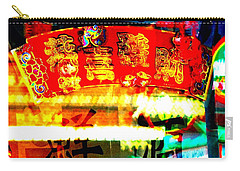 Chinatown Window Reflection 4 Carry-all Pouch