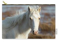 Chincoteague White Pony Carry-all Pouch