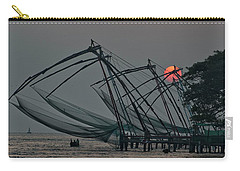 Chinese Fishing Nets, Cochin Carry-all Pouch