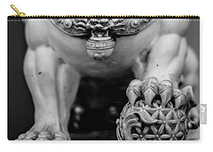 Chinese Guardian Lions Shishi Carry-all Pouch
