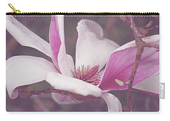 Chinese Magnolia Bloom Carry-all Pouch by Toni Hopper