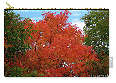 Chinese Pistache Fall Color Carry-all Pouch