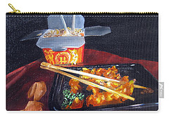 Chinese Take Out Carry-all Pouch by LaVonne Hand
