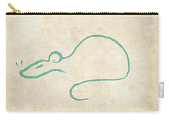 Chinese Zodiac The Rat II Carry-all Pouch
