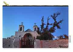 Chiu Chiu Church At Twilight Chile Carry-all Pouch by James Brunker