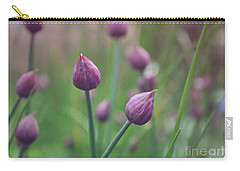 Chives Carry-all Pouch by Lyn Randle