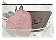 Chocolate And Strawberry Martini Carry-all Pouch
