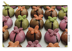 Chocolate Butterflies Carry-all Pouch by Sabine Edrissi