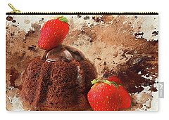Carry-all Pouch featuring the photograph Chocolate Explosion by Darren Fisher