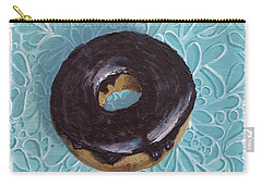Chocolate Glazed Carry-all Pouch by T Fry-Green