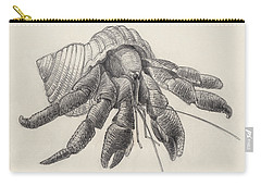 Chocolate Hermit Crab Carry-all Pouch