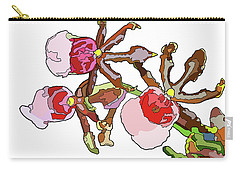 Chocolate Orchids Carry-all Pouch