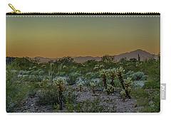 Cholla Desert Sunset Carry-all Pouch