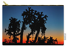 Cholla Silhouettes Carry-all Pouch