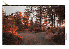 Choose The Road Less Travelled Carry-all Pouch