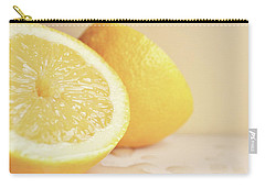 Chopped Lemon Carry-all Pouch by Lyn Randle