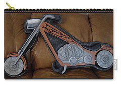 Chopper Carry-all Pouch by Val Oconnor