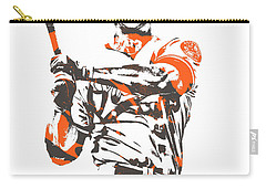 Chris Davis Baltimore Orioles Pixel Art 10 Carry-all Pouch