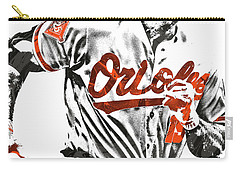 Chris Davis Baltimore Orioles Pixel Art Carry-all Pouch
