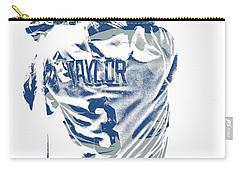 Chris Taylor Los Angeles Dodgers Pixel Art 5 Carry-all Pouch