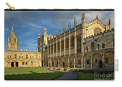 Carry-all Pouch featuring the photograph Christ Church College II by Brian Jannsen