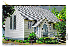Carry-all Pouch featuring the photograph Christ Church by Rod Wiens