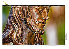 Christ In Bronze Carry-all Pouch