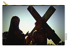 Christ Meets His Mother Carry-all Pouch by Nature Macabre Photography