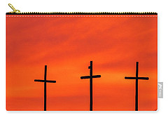 Christ Pilot Me Hill -02 Carry-all Pouch by Rob Graham