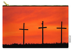 Christ Pilot Me Hill -03 Carry-all Pouch by Rob Graham