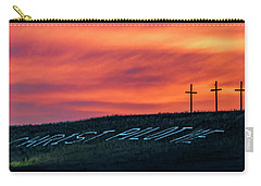 Christ Pilot Me Hill Carry-all Pouch by Rob Graham