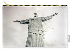 Christ The Redeemer Carry-all Pouch by Andrew Matwijec