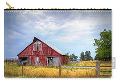 Christian School Road Barn Carry-all Pouch by Cricket Hackmann