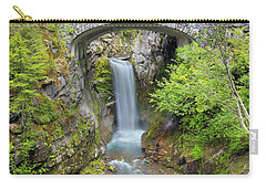 Christine Falls In Mt Rainier National Park Carry-all Pouch