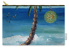 Carry-all Pouch featuring the painting Christmas 2008 by Jamie Frier