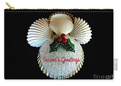 Christmas Angel Greeting Carry-all Pouch