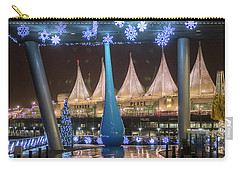 Christmas At Canada Place Carry-all Pouch