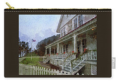 Carry-all Pouch featuring the photograph Christmas At Heceta Head by Thom Zehrfeld