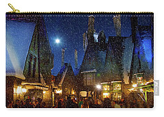 Christmas At Hogsmeade Blank Carry-all Pouch