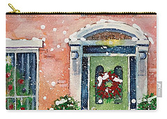Christmas At The Rectory Carry-all Pouch