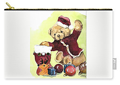 Christmas Bear Carry-all Pouch