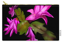 Christmas Cactus Carry-all Pouch
