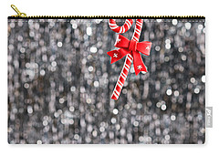 Carry-all Pouch featuring the photograph Christmas Candy  by Ulrich Schade