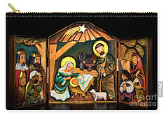 Christmas Card 2016 - 8 Carry-all Pouch by Al Bourassa