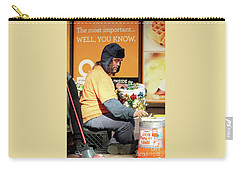 Carry-all Pouch featuring the photograph Christmas Cheer by Joe Jake Pratt