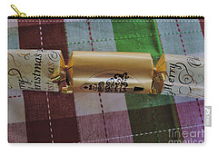 Carry-all Pouch featuring the photograph Christmas Cracker by Cassandra Buckley