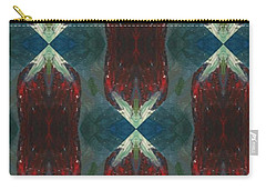 Christmas Crackers Surprise Carry-all Pouch by Maria Watt